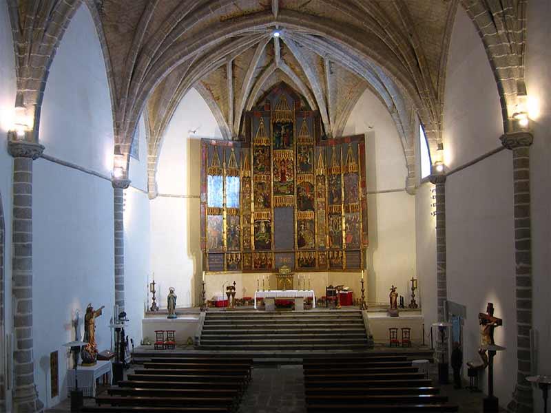 Vista de la Nave interior Iglesia Nuestra Señora de la Asunción