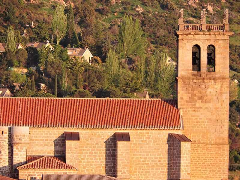 vista externa Iglesia de la Asunción