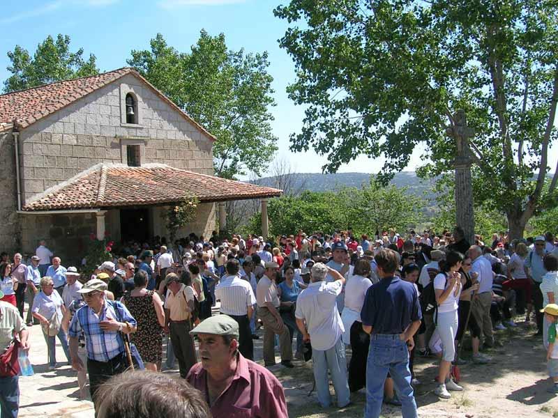 romería de Navahonda en Robledo de Chavela